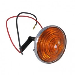 Replacement Park & Turn Signal Lamp Assembly (amber lens)  Fits  53-71 CJ-3B, 5