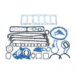 Complete Engine Overhaul Gasket Set (rope rear main)  Fits  54-64 Truck, Station Wagon with 6-226 engine