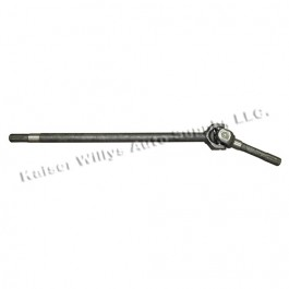 Front Axle Shaft Assembly for Drivers Side (LH)  Fits  41-71 CJ/MB/GPW/M38/M38-A1 with Dana 25