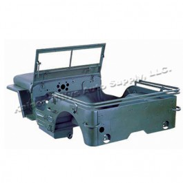 Body Tub Kit (Steel Tub, Fenders, Hood, & Windshield Frame)  Fits  42-45 MB