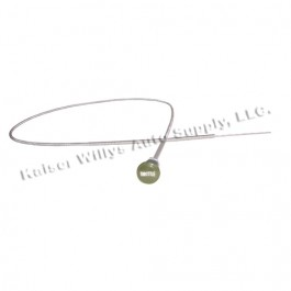 Engraved Throttle Cable Assembly in Olive Drab  Fits  41-66 MB, GPW, M38, M38A1