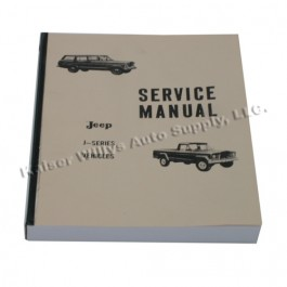 Mechanics (service) Manual  Fits  62-68 J-Series
