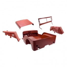 Body Tub Kit (Steel Tub, Fenders, Hood, & Windshield Frame)  Fits  41-42 MB