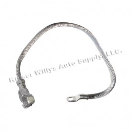 Round Battery Ground Cable Fits 41-45 MB, GPW