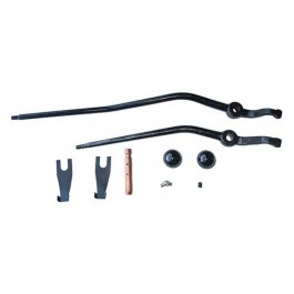 Transfer Case Dual Shift Lever Kit Fits 41-71 Jeep & Willys with D18 transfer case