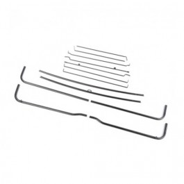 Top Bow Frame Assembly (Imported) Fits 49-64 CJ-3A, 3B