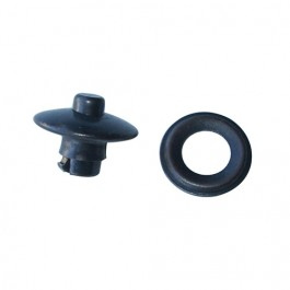 US Made Door Canvas Press Button Fitting (on door - 7 required per side) Fits  41-64 MB, GPW, CJ-2A, 3A, 3B, M38, M38A1