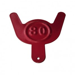 Jerry Can Octane Tag (Red) Fits: All Jeep Vehicles