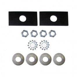Radiator Mounting Pad Hardware Kit Fits  41-52 MB, GPW, CJ-2A, 3A M38