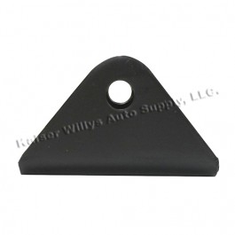 Steel Leaf Spring to Frame Pivot Eye Bracket (non greasable) Fits 52-71 CJ-5, 6, M38A1