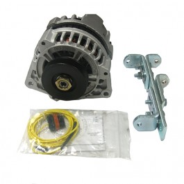 New 12 volt Conversion Alternator Kit (4 or 6 cyl) Fits  41-71 Willys and Jeep