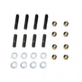 Exhaust Manifold to Block Stud, Washer & Nut Master Kit Fits  41-71 Jeep & Willys with 4-134 engine