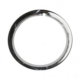 Show Quality Chrome Beauty Ring Fits  46-55 Jeepster, Station Wagon with Planar Suspension