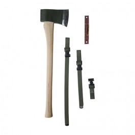 Complete Axe, Bracket & Strap Kit Fits 52-66 M38A1