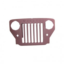 New Steel Radiator Grille Fits  53-65 CJ-3B