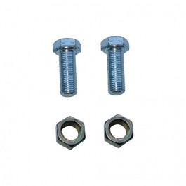 Front Axle Steering Knuckle Stop Hardware Kit Fits 41-66 Jeep & Willys with Dana 25