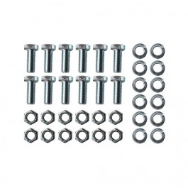 Backing Plate to Steering Knuckle Hardware Kit Fits  46-55 Jeepster, Station Wagon with 10