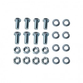Axle to Frame Leaf Spring Bumper (snubber) Hardware Kit  Fits 41-71 MB, GPW, CJ-2A, 3A, 3B, 5, M38, M38A1