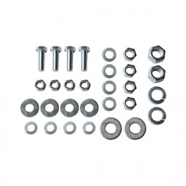 Engine & Transmission Insulator Hardware Kit Fits  41-53 MB, GPW, CJ-2A, 3A with L 4-134 engine