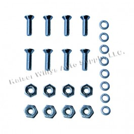 Tail & Stop Light Bezel to Body Hardware Kit (1 required per vehilce) Fits 52-64 Station Wagon