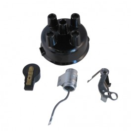 Distributor Rebuild Kit (points, rotor, cap, condenser)  Fits  48-53 Truck, Station Wagon, Jeepster with 4-134 engine