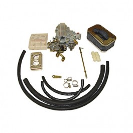 Performance Carburetor Conversion Kit 400 CFM for 2 Barrel  Fits  76-86 CJ with 6 Cylinder 258