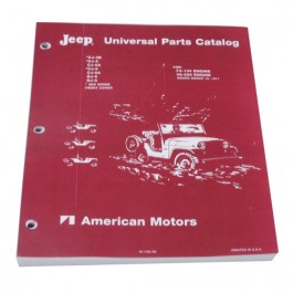 Master Parts List Manual  Fits 55-71 CJ-5 with 4-134 & V6 engines