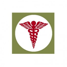 New Medical Caduceus Decal  Fits  41-71 Jeep & Willys (4
