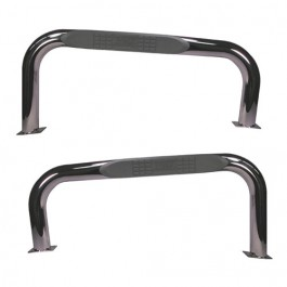 Nerf Bars in Stainless Steel  Fits  76-83 CJ