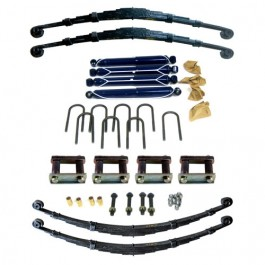 Complete Suspension Overhaul Kit Fits  55-71 CJ-5