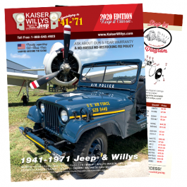 2020 Kaiser Willys Parts Catalog
