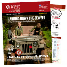 2018 Kaiser Willys Parts Catalog