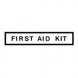 New First Aid Kit Decal Fits  41-71 Jeep & Willys