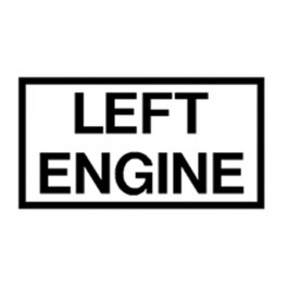 New Left Engine Decal Fits  41-71 Jeep & Willys