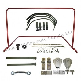 Complete Top Bow Frame Assembly, Bracket & Strap Kit Fits  50-52 M38