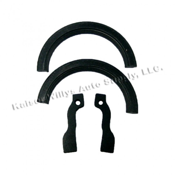 Neoprene Rear Main Oil Seal Set, 54-64 Truck, Station Wagon with 6-226 engine
