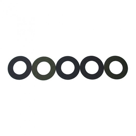 Starter Motor Fiber Thrust Washer Shims (Set of 5)  Fits 41-49 MB, GPW, CJ-2A