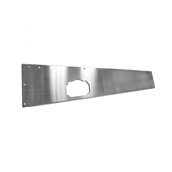 Dash Panel in Stainless Steel, 76-86 CJ