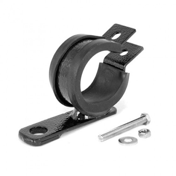 XHD Overrider Light Mount Clamps, 76-86 CJ with 2 - 2.5 Inch