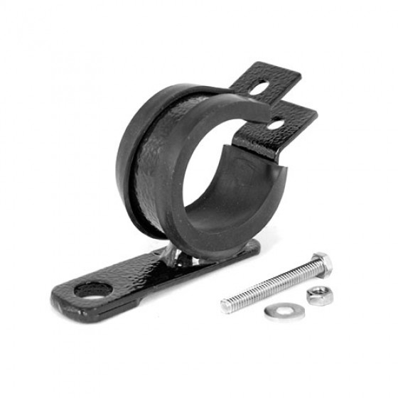 XHD Overrider Light Mount Clamps, 76-86 CJ with 1.5 - 1.75 Inch
