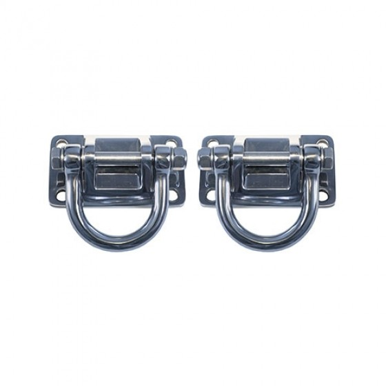 XHD D-Rings in Stainless Steel, 76-86 CJ