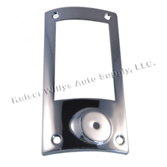 Chrome Tail & Stop Light Bezel for Drivers Side, 52-64 Station Wagon