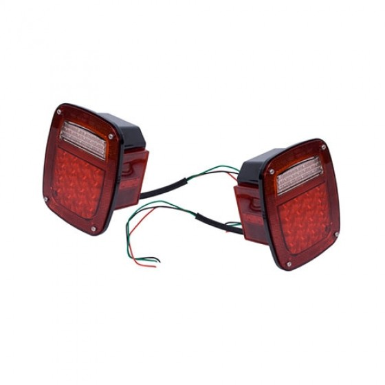 LED Tail Light Set, 76-86 CJ