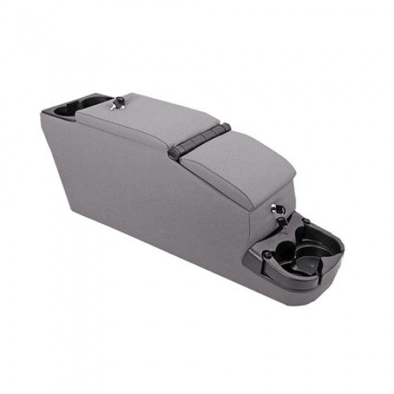 Ultimate II Locking Console in Gray, 76-86 CJ