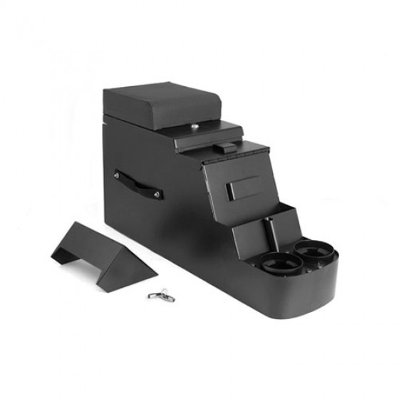 Stereo Security Console in Black, 76-86 CJ
