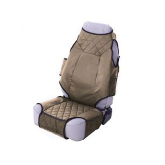 Neoprene Seat Protector Vests in Spice, 76-86 CJ