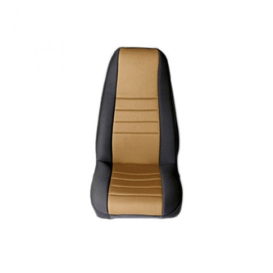 Fabric Front Seat Covers, 76-86 CJ