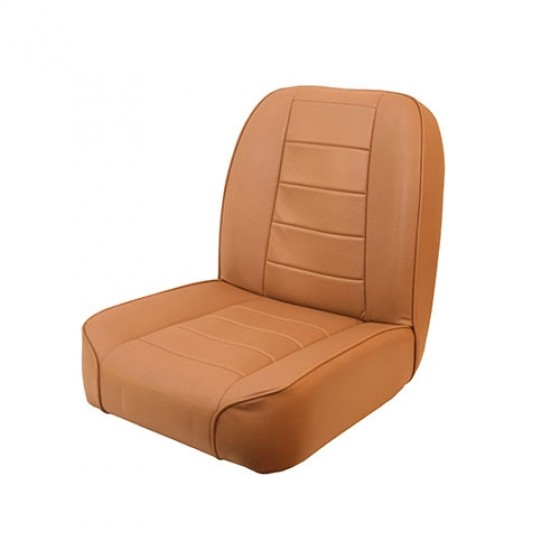 Standard Low Back Seat in Tan, 76-86 CJ