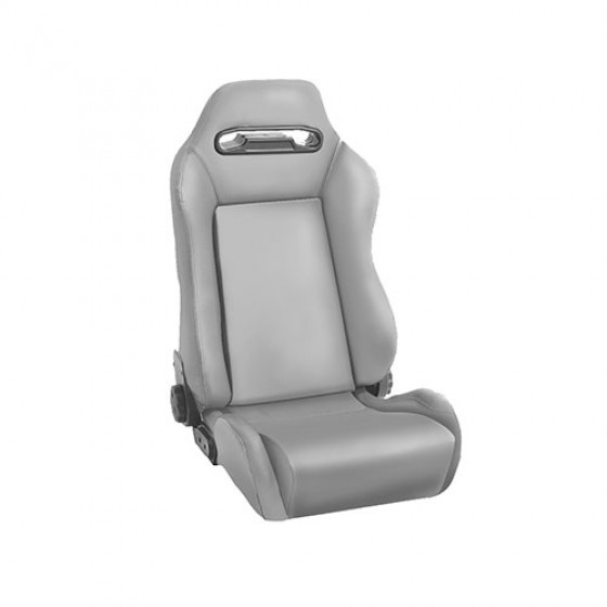 Sport Front Reclinable Seat in Gray, 76-86 CJ