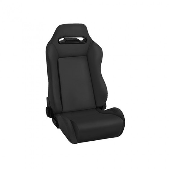 Sport Front Reclinable Seat in Black Denim, 76-86 CJ